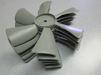 5 Pack Grey Plastic 6 X 14 X 6 Blade Exhaust Ventilator Fan Blades Usa New