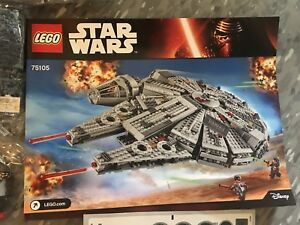 Lego Star Wars 75105 Millennium Falcon Retired Rare New