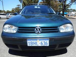 2002 Volkswagen Golf Automatic LOW KMS Hatchback