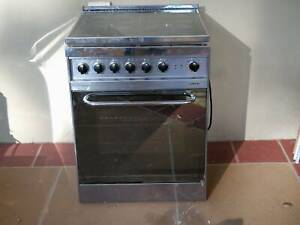3 Phase Electric Oven with 4 burner gas cooktop stainless steel