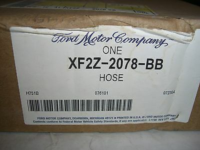 Genuine Part Brake Hose - NOS OEM Genuine Ford 2000-2003 Windstar Right Front Brake Hose Part XF2Z-2078-BB