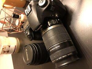 Canon 60D et deux lentilles à vendre