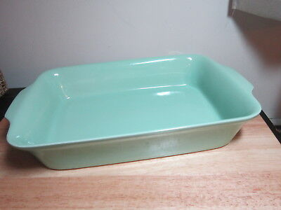 Green-Glaze Ceramic Baking Rectangular Baking Dish Roast Lasagna Pan-Portugal