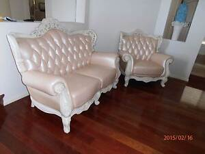 Lether sofa 3 pieces. Almost new, excellent condition Macquarie Links Campbelltown Area Preview
