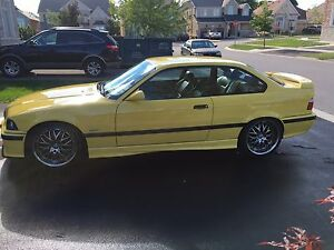 1998 BMW M3 E36 DAKAR Yellow Rare! Low KM's !!