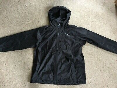 Outdoor Research Mens Helium II Jacket Black Large NEW NWOT