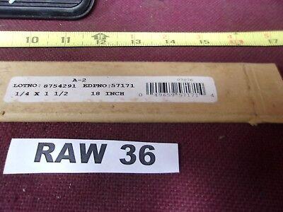A2 A-2 Tool Steel 14 X 1-12 X 15 Flat Stock Oversized Raw36