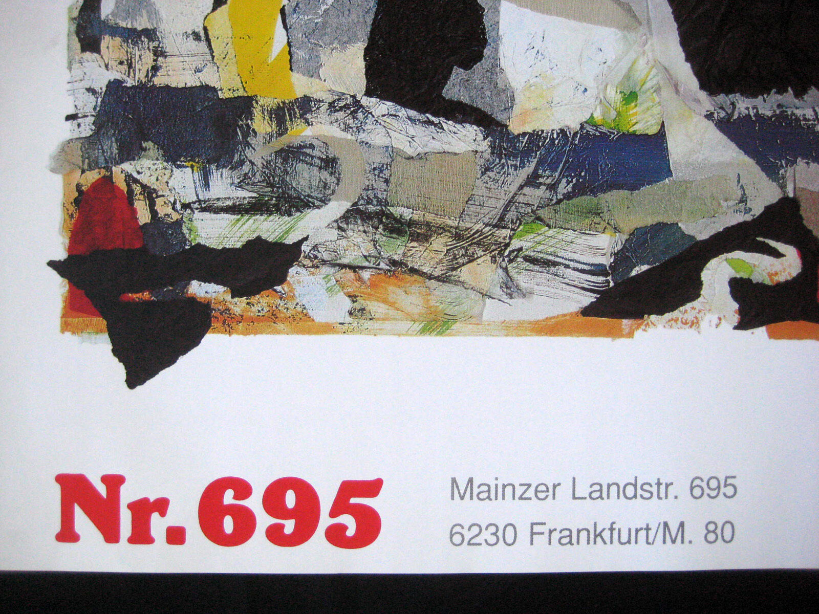 Torok, Gabor Hungary Leading Contemporary Abstract Artist, Dramatic Poster, MINT - $18.00