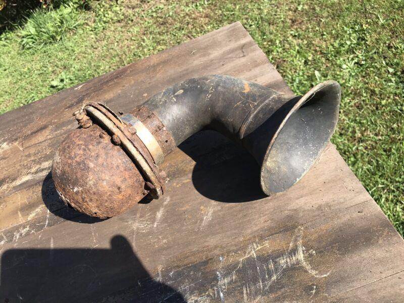 Antique Brass Horn Electric Car Truck Shabby Not Wotking