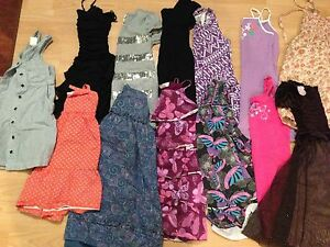 Girls summer lot size 6/7