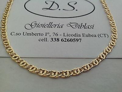 BELLISSIMA COLLANA IN ORO GIALLO(oro 18kt titolo 750%) Made in Italy