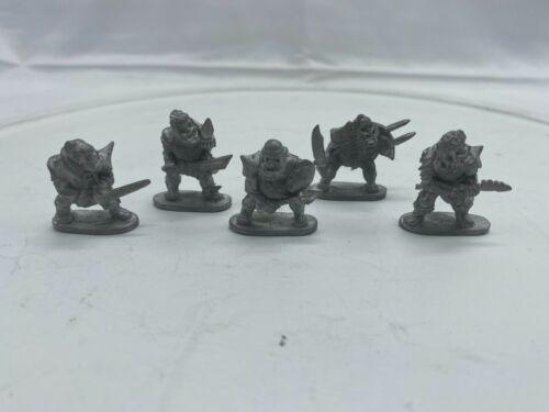 vintage grenadier 1988 pewter ogres unpainted