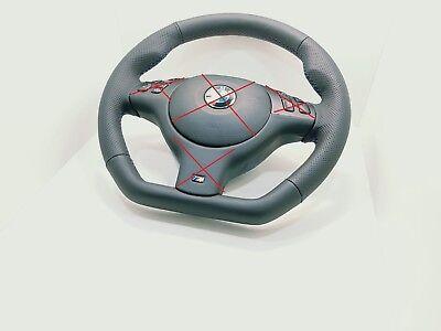 BMW Sport M-Tech MTechnic Mtech M-Technik E46 E38 E39 X53 Steering Wheel leahter for sale  Shipping to Canada