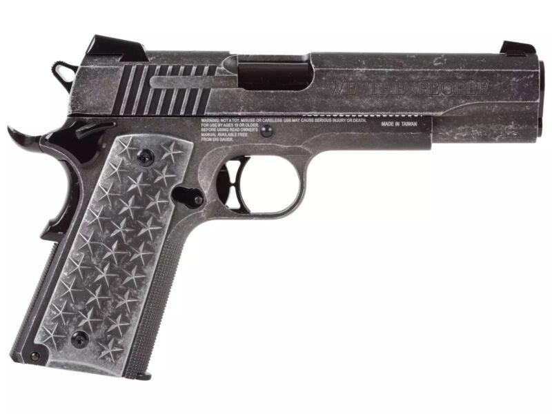 Sig Sauer 1911 We The People  177 Caliber Air Co2 BB Gun