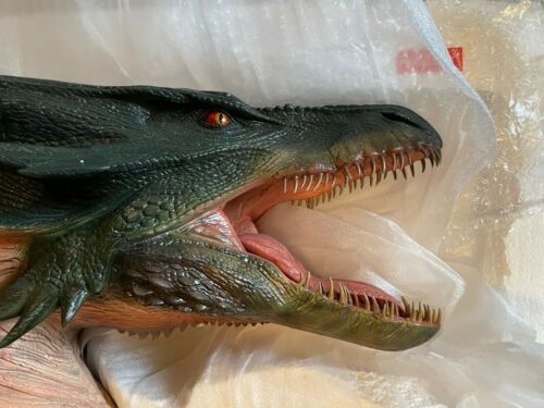 VERY RARE - Sideshow Reign of Fire Dragon Bust Statue, #44 of 200, New in Box!