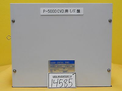 Ebara Vif70am1 Vacuum Control Panel Interface Module Amat P5000 Used Working
