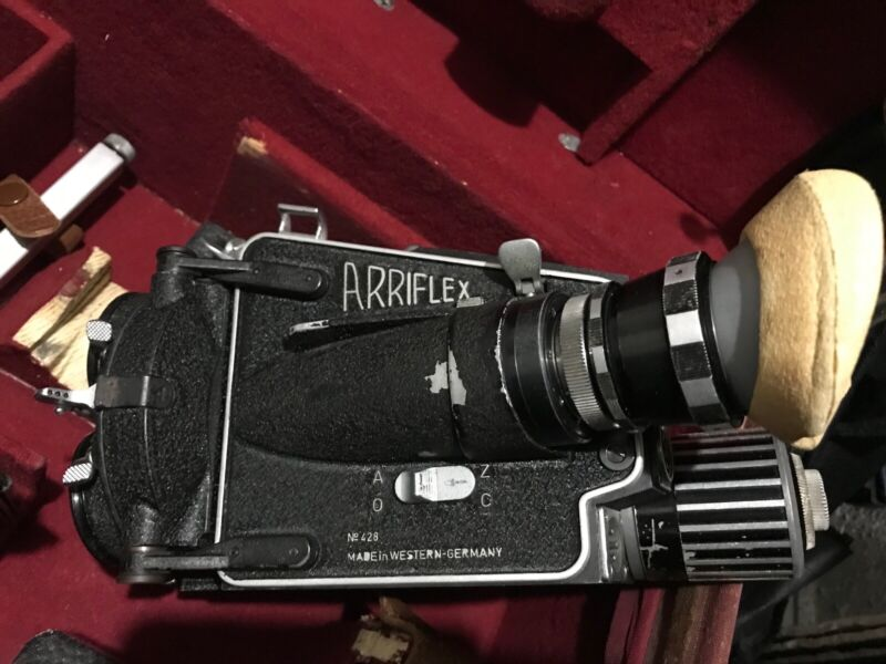 ARRIFLEX M (B) 16 MOVIE CAMERA,24 Crystal, Variable motor, 2 Mags, Matte Box