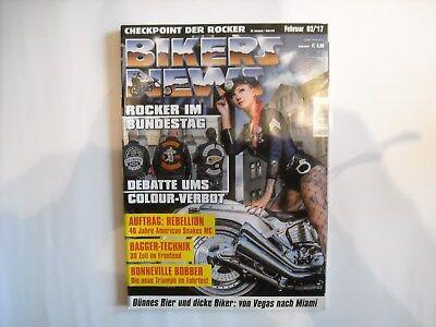 BIKERS NEWS Checkpoint der Rocker 38. Jahrgang Heft418Februar02/2017