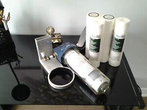 A vendre un filtreur a eau aqua- pure pour filtrer l'eau .