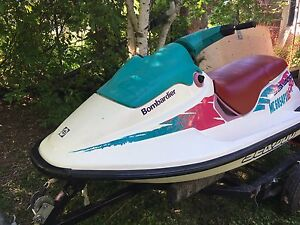 Seadoo, excellent condition. Make offer need gone!
