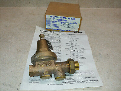 Water Pressure Reducing Valve 12 Wilkins Model 610