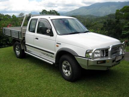 2003 Ford Courier Ute Mossman Cairns Surrounds Preview