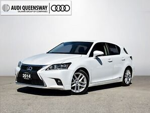 2014 Lexus CT 200h Technology|No Accidents|Navi|Leather|Roof