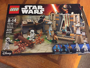 Star Wars Battle on Takodana 75139 lego new complete open box