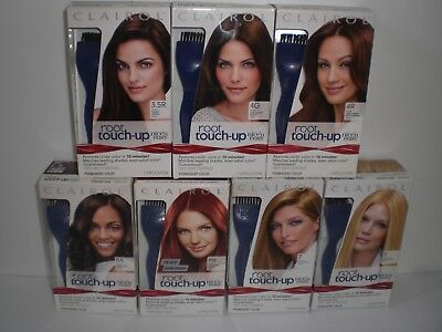 Clairol Nice n Easy Root Hair Color Touch Up & Precision Brush 2 PACK Pick Shade ()