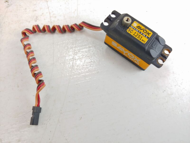 Savox SC-1251MG Digital Low Profile Metal Gear Steering Servo