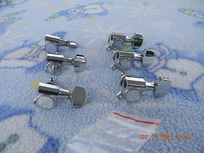 BC RICH INLINE BASS GUITAR TUNER TUNING PEG RIGHT HAND CHROME #70