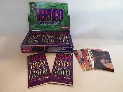 Vertigo DC Comic 2 Sealed Box Trading Card 72 Packs Total 2 box Factory sealed