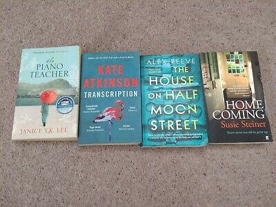 Four mixed bestselling and Richard and Judy bookclub paperbacks