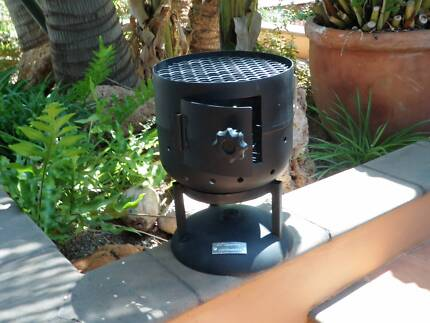 Camp Fire / Cooking fire with optional grill plate/ small $80