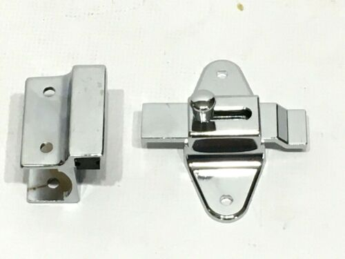 Commercial Stainless Steel Bathroom Stall Partition Out Swing Strike & Latch