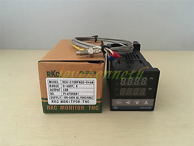 Pid Temperature Controller Rex-c100 Ssrrelay Output K Type Thermocouple