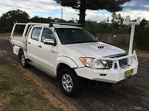 2008 Toyota Hilux SR Dual Cab 4x4 Wamberal Gosford Area Preview