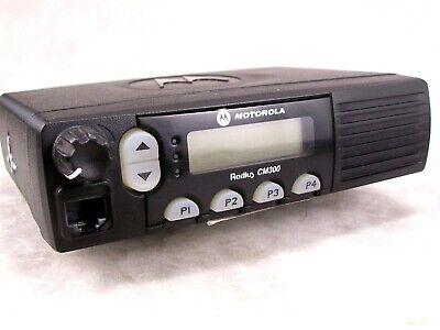Motorola Cm300 Vhf 32ch 45w Mobile Radio Wnew Accessories