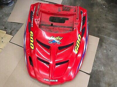 Polaris RZR XP 900 800 570 UTV Graphics Hood Decal 2011-2014 Guardian Red