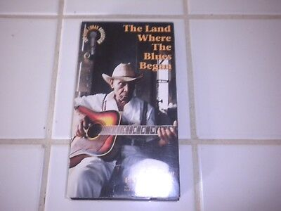 American Patchwork - The Land Where Blues Began (VHS, 1991)