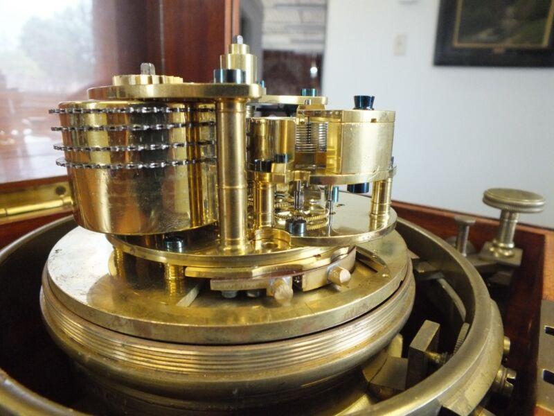 Antique Kelvin, White & Hutton 8 day Marine Chronometer