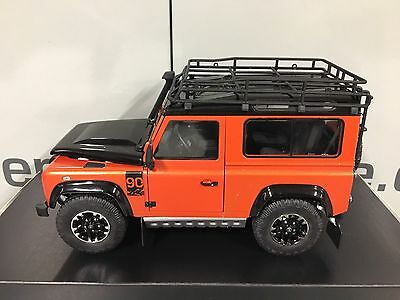 LAND ROVER DEFENDER ADVENTURE 1:18 SCALE MODEL GENUINE LAND ROVER ITEM