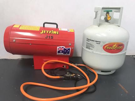 Jetfire J15 portable industrial heater