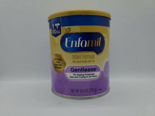 Enfamil Gentlease Infant Baby Formula Powder 12.4 Oz EXP 07/01/21 - $17.59