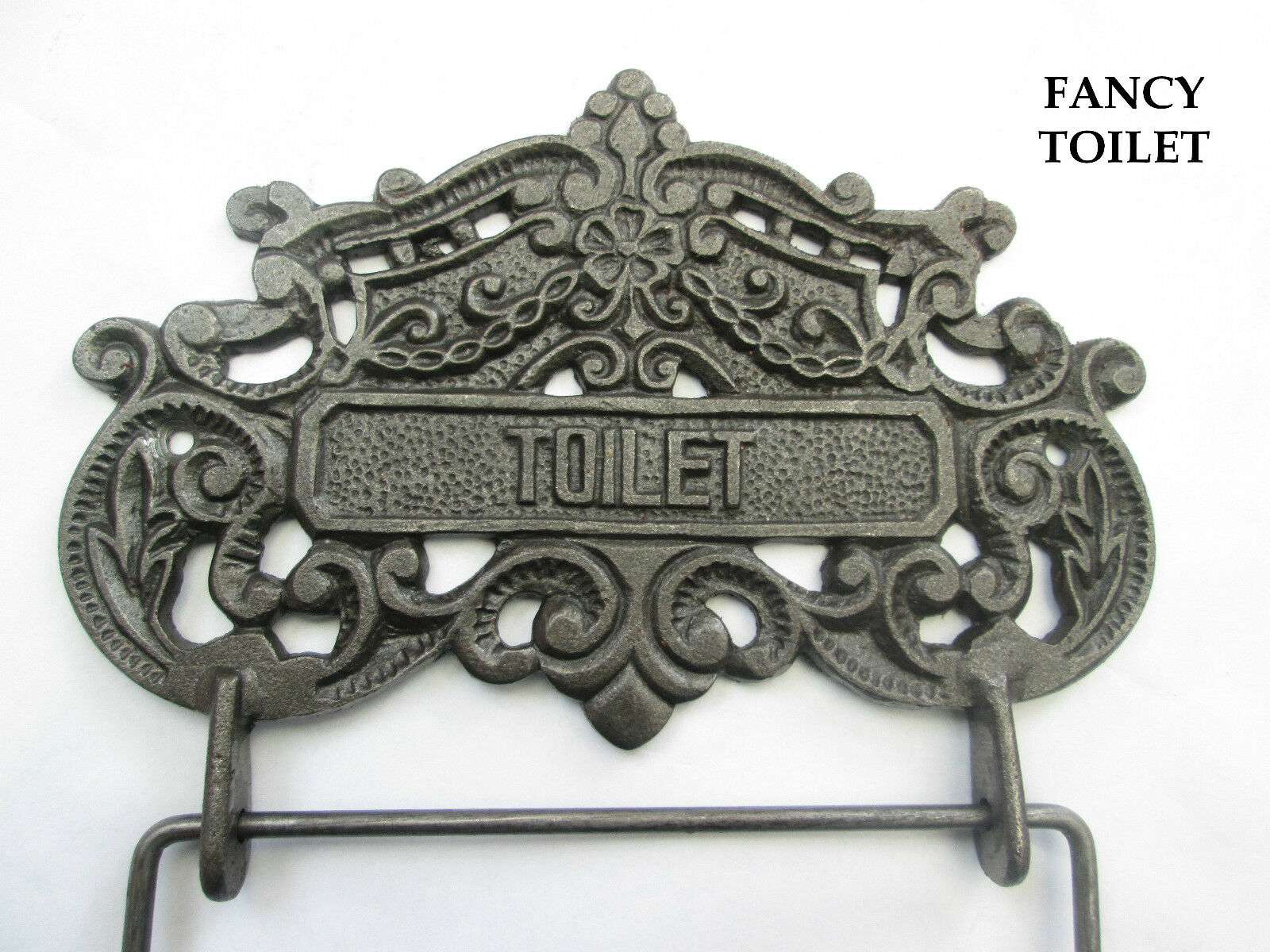 vintage victorian old style period bathroom wc washroom loo toilet roll holder picclick uk. Black Bedroom Furniture Sets. Home Design Ideas