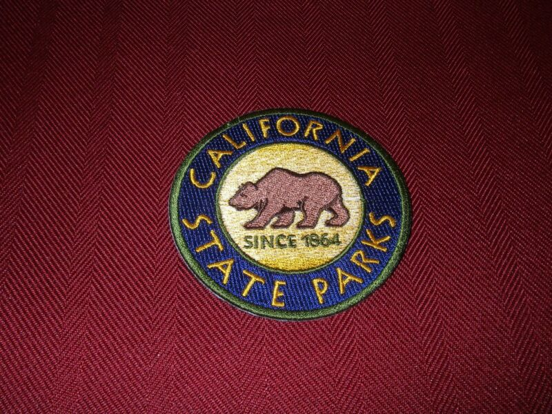 """California State Parks  Shoulder Patch  3"""" Circle"""