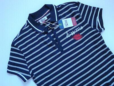 TOMMY HILFIGER  Poloshirt  THDW  STRIPE  POLO  Streifen  Blau/Weiß  Gr. XS  Neu - Tommy Hilfiger Stripe Shirt