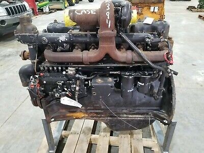 Case 2394 504bdt Good Used Runner Engine