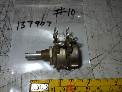 Cts 1959 Dual Potentiometer For Vintage Stereo Tube Amplifier 10