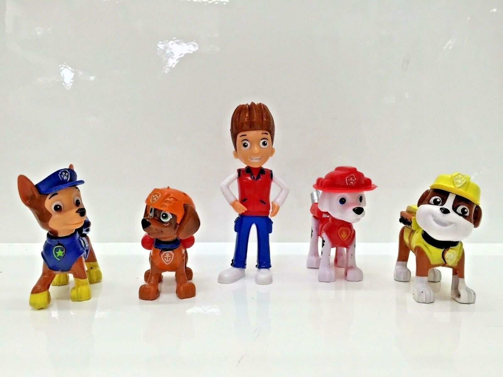 Paw Patrol 10cm Action Figures Pack Rescue Team Pack of 5 Fi